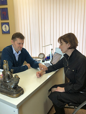 Пильнов Алексей Игоревич - врач тибетской медицины
